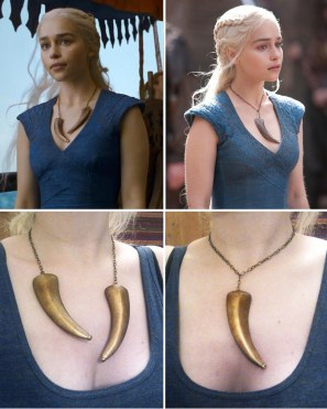 Daenerys - Dragon claw necklace